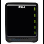 "Drobo 5C HDD-/SSD-behuizing 3.5"" Zwart"