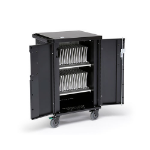 Bretford CUBE Micro Station Portable device management cart Charcoal