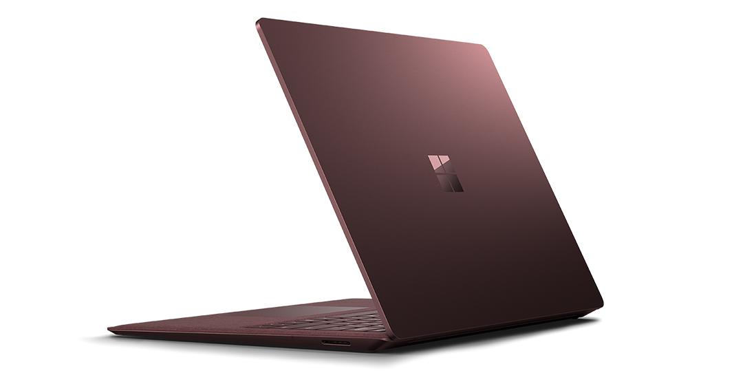"Microsoft Surface Laptop Bordeaux rood Notebook 34,3 cm (13.5"") 2256 x 1504 Pixels Touchscreen 2,5 GHz Zevende generatie Intel® Core™ i7 i7-7660U"