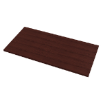 Fellowes 9650601 computer desk top Square shape Mahogany