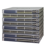Netgear M5300-28GF3 Gestionado L2+ Energía sobre Ethernet (PoE) 1U Plata