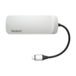 Kingston Technology Nucleum USB 3.0 (3.1 Gen 1) Type-C 5000Mbit/s Silver interface hub