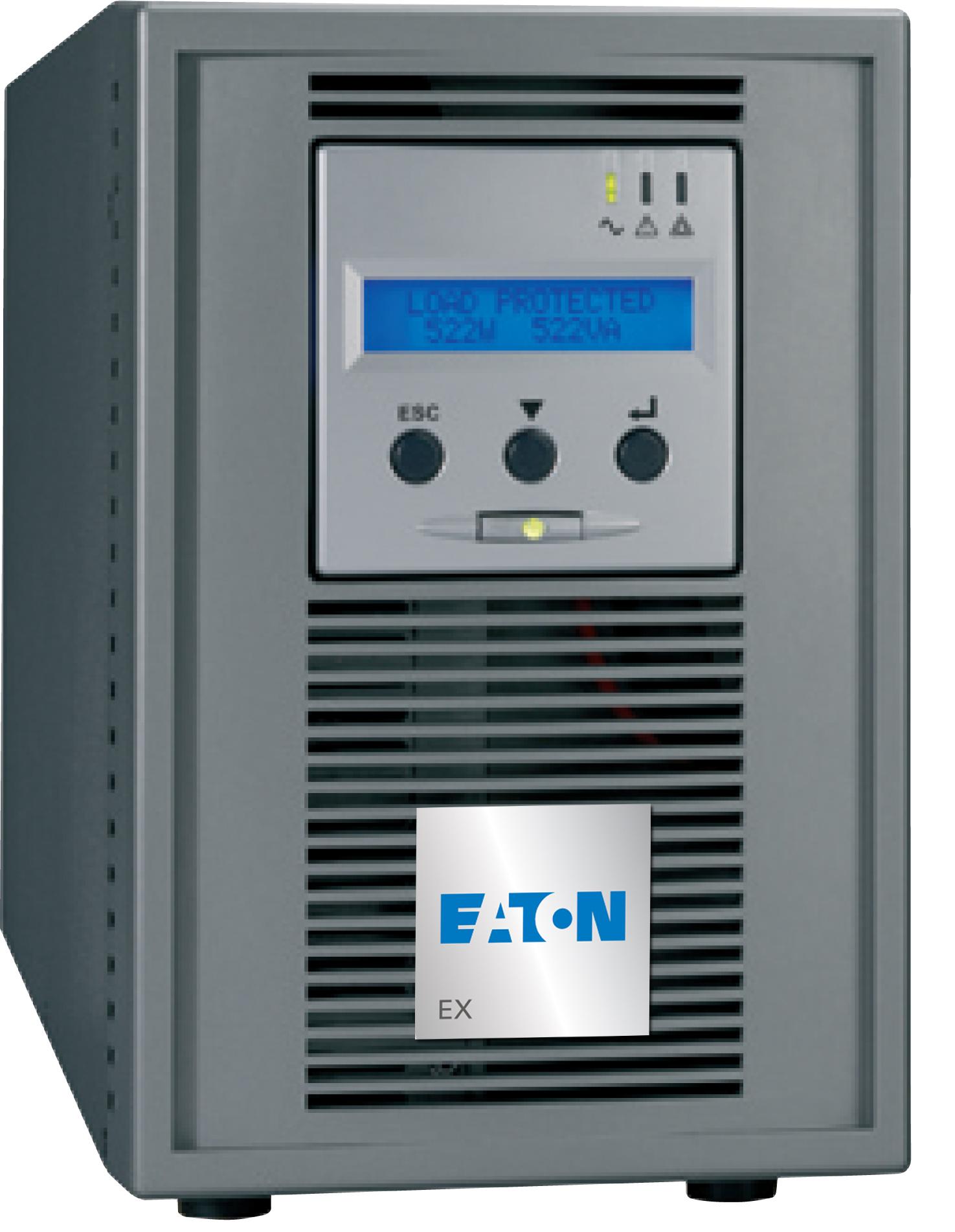 Eaton EX 1000 1000VA 6AC outlet(s) Tower Grey uninterruptible power supply (UPS)