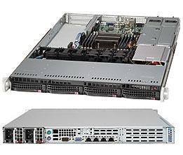 Supermicro CSE-819TQ-R700WB computer case 1U Black 700 W