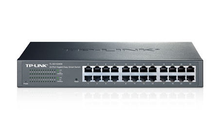 TP-LINK JetStream Managed L2 Gigabit Ethernet (10/100/1000) Black