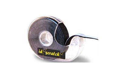 PatchSee ID-Scratch tape dispenser Polyamide Black