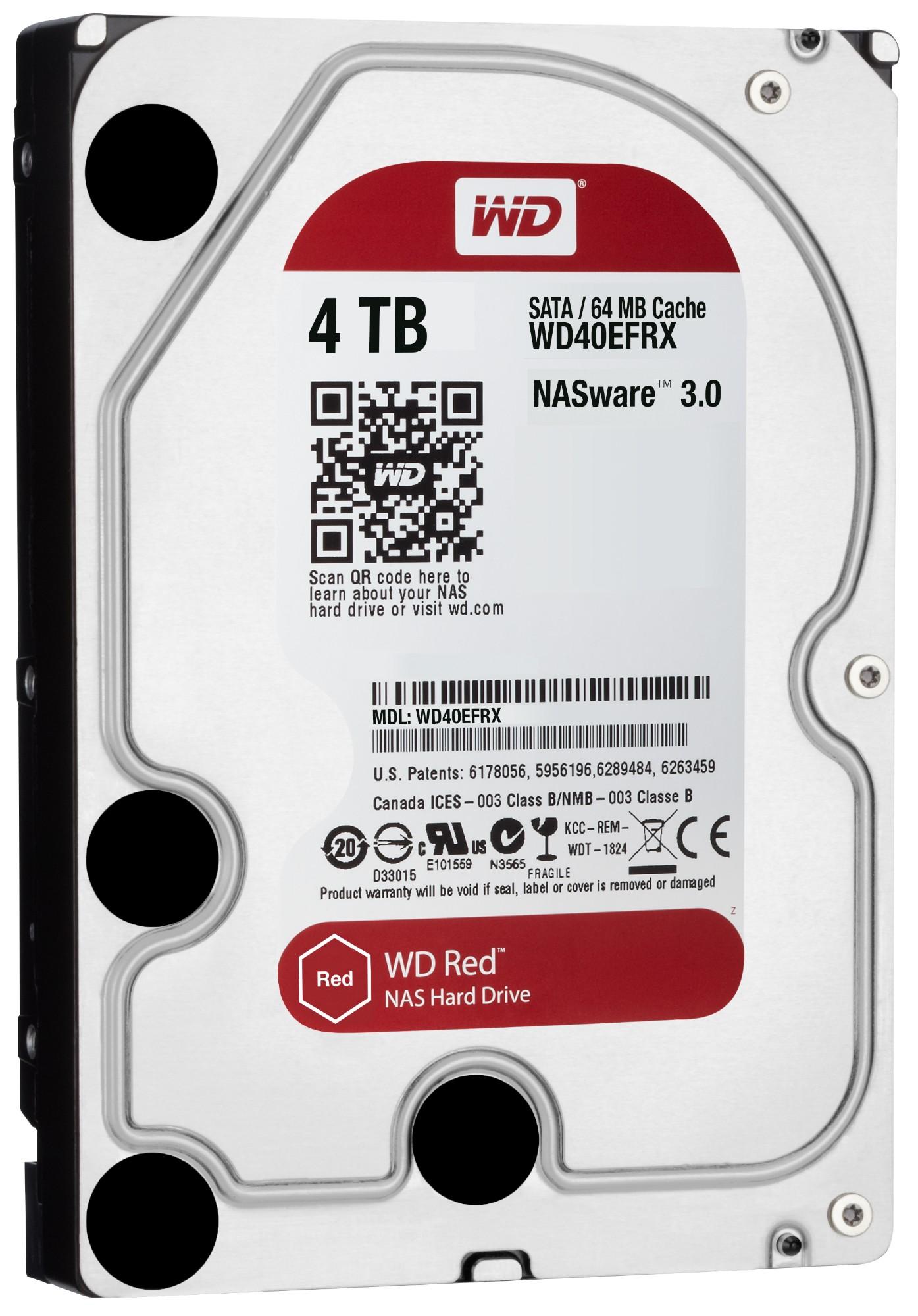 "Western Digital Red 3.5"" 4000 GB Serial ATA III"