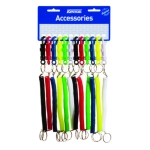 KEVRON CARD HOLDER KEVRON EXPANDING COIL ASSORTED COLOURS(PK12)