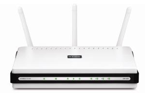 D-Link DIR-655 wireless router Gigabit Ethernet White