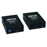 Tripp Lite HDMI over Cat5/6 Active Extender Kit, Box-Style Transmitter/Receiver, Video/Audio, 1080/60p, Intl Power Supply, Up to 61 m (200-ft.)
