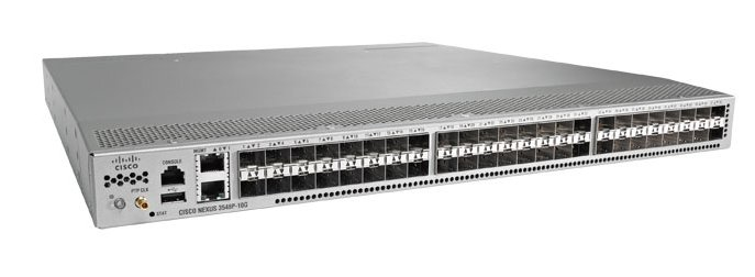 Cisco Nexus 3548-X Managed L2/L3 Gigabit Ethernet 10/100/1000 Grey 1U
