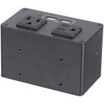StarTech.com MOD4POWERNA outlet box C13 Black