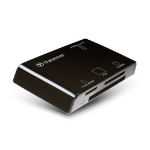Transcend Multi- P8 card reader Black