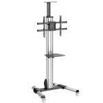 StarTech.com TV Cart - Height Adjustable - Lockable Wheels