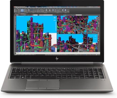 HP ZBook 15 G5 Mobile workstation Black,Silver 39.6 cm (15.6