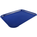 FSMISC TEA TRAY PLAIN BLUE 445X330MM