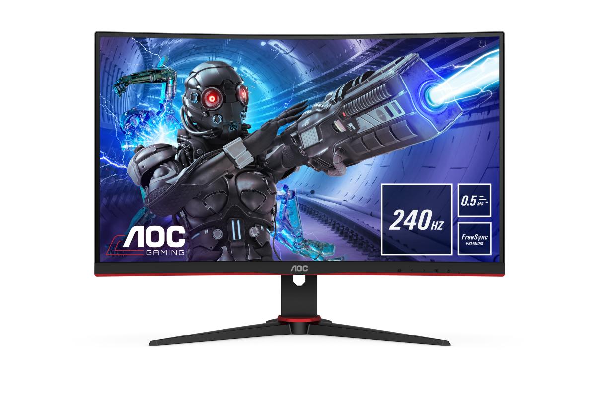 """AOC C27G2ZE/BK computer monitor 68.6 cm (27"""") 1920 x 1080 pixels Full HD LED Black, Red"""