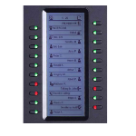 Grandstream Networks GXP2200EXT IP add-on module 20 buttons Black
