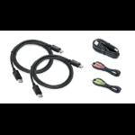 """iogear G2L92A2U DisplayPort cable 59.1"""" (1.5 m) 2x DisplayPort Black"""