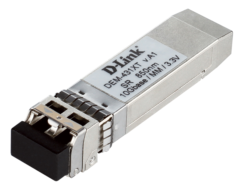 D-Link DEM-431XT network transceiver module Fiber optic 10000 Mbit/s SFP+ 850 nm