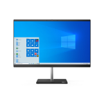 "Lenovo V50a 60.5 cm (23.8"") 1920 x 1080 pixels 10th gen Intel® Core i5 8 GB DDR4-SDRAM 256 GB SSD Windows 10 Pro Wi-Fi 5 (802.11ac) All-in-One PC Black, Silver 11FJ008FUK"