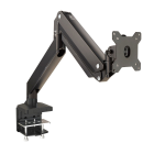 """Siig CE-MT2Z11-S1 monitor mount / stand 35"""" Clamp/Bolt-through Black"""