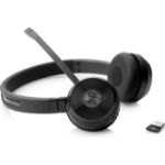 HP UC Wireless Duo Head-band Binaural Wireless Schwarz Mobile Kopfhörer