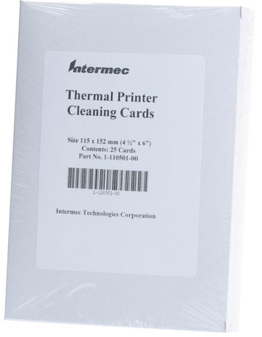 Intermec 1-110501-00 printer cleaning