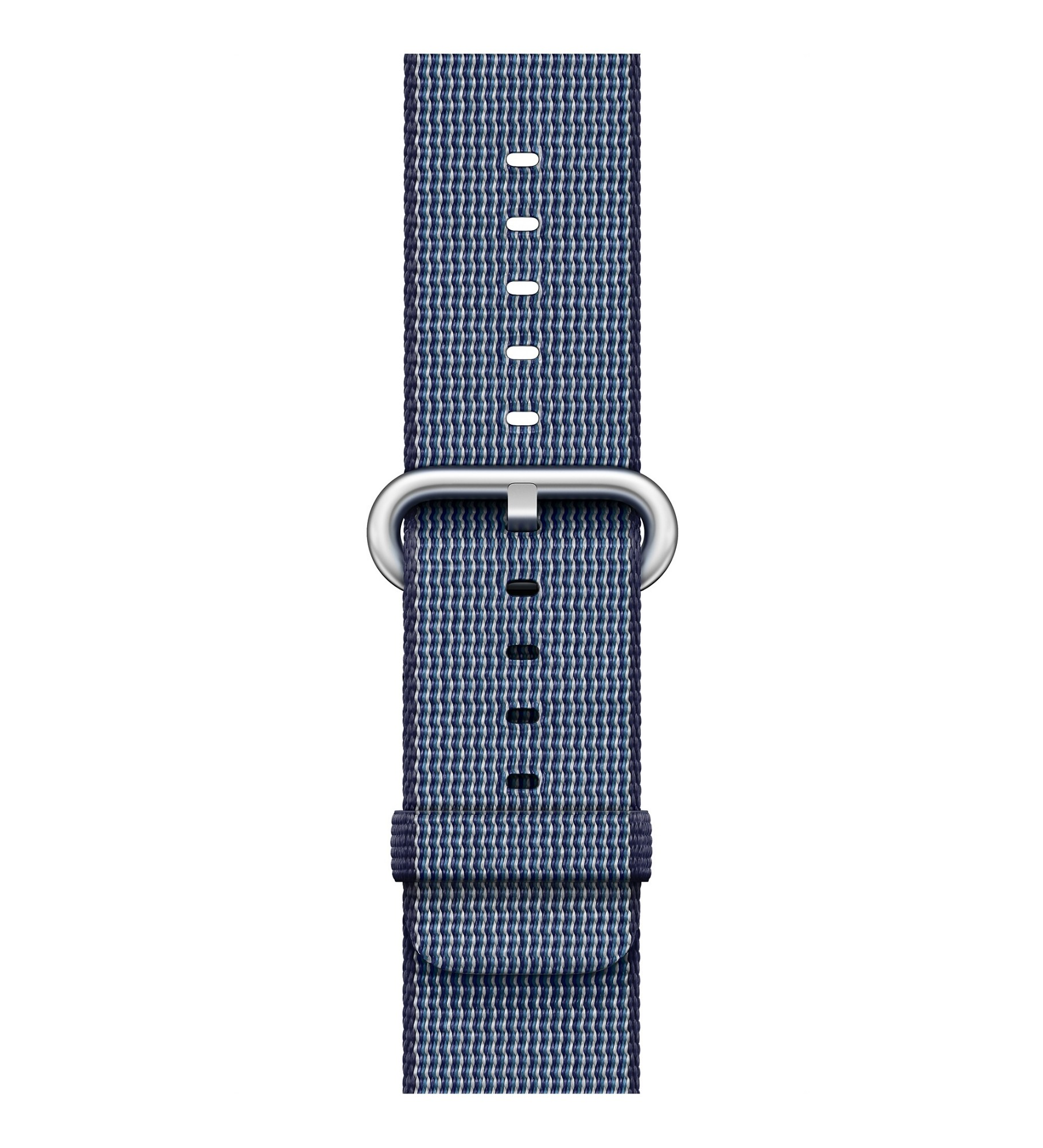 Apple 38mm Midnight Blue Woven Nylon