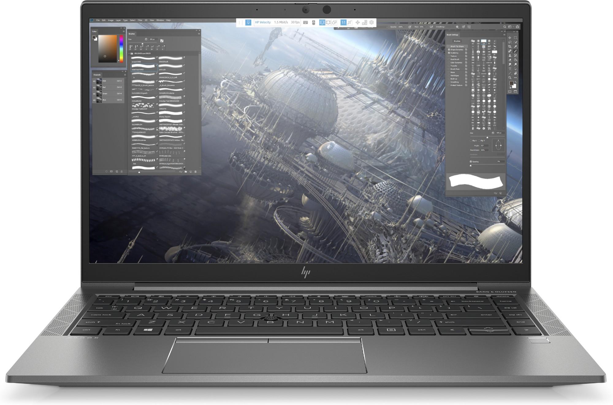 """HP ZBook Firefly 14 G7 Ultra-draagbaar Zilver 35,6 cm (14"""") 1920 x 1080 Pixels Intel® 10de generatie Core™ i7 16 GB DDR4-SDRAM 512 GB SSD NVIDIA Quadro P520 Wi-Fi 6 (802.11ax) Windows 10 Pro for Workstations"""