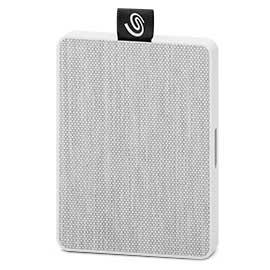 Seagate STJE500402 unidad externa de estado sólido 500 GB Blanco