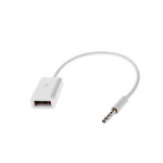 Microconnect AUDUSBFW audio cable 0.2 m 3.5mm USB Type-A White