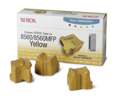 Xerox 108R00725 Dry ink in color-stix, 3.4K pages, Pack qty 3
