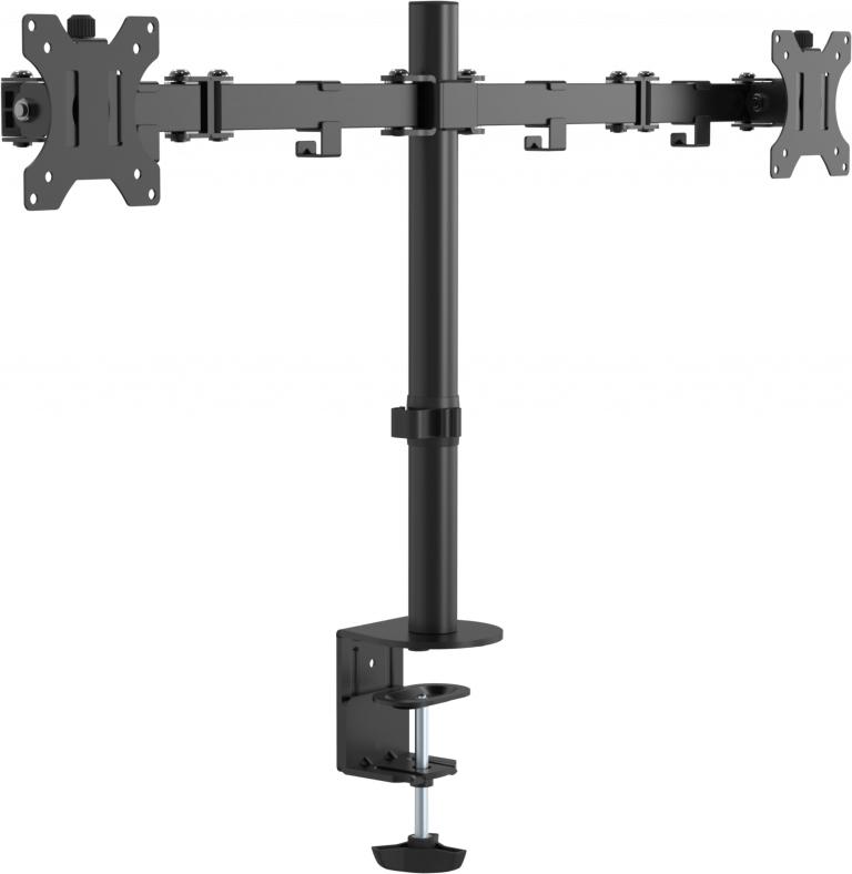 """Vision VFM-DPD2B soporte de mesa para pantalla plana 41,9 cm (16.5"""") Abrazadera Negro"""