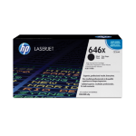 HP 646X High Yield Black Original LaserJet Toner Cartridge