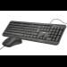 Trust Ziva teclado USB Español Negro