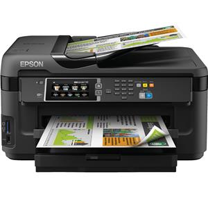Epson WorkForce WF-7610DWF 4800 x 2400DPI Inkjet A3 32ppm Wi-Fi Black multifunctional
