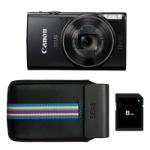 """Canon IXUS 285 HS Compact camera 20.2 MP CMOS 5184 x 3888 pixels 1/2.3"""" Black"""