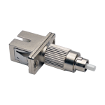 Tripp Lite T020-001-SC62 fiber optic adapter FC/SC 1 pc(s) Silver