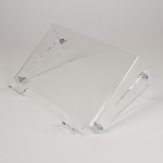 Newstar Tiltable Transparent Laptop Stand (Clear Acrylic)Stunning crystal clear acrylic for a stylish work e
