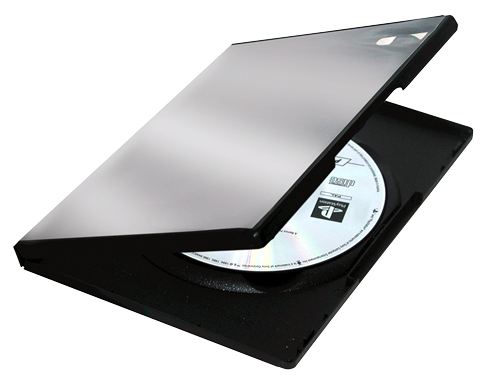 DVD Replacement Case 5-pk