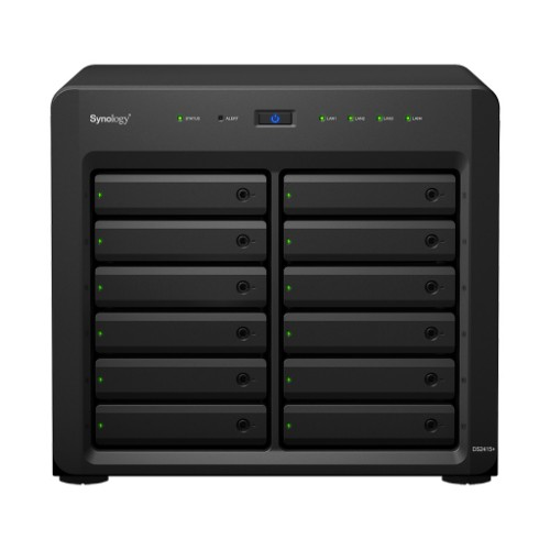 Synology DS2415PLUS DS2415+ 12 Bays Network Attached Storage Server Black