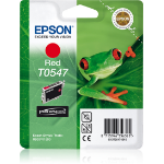 Epson C13T05474010 (T0547) Ink cartridge red, 400 pages, 13ml