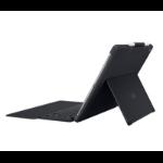 Logitech Slim Combo Smart Connector German Black mobile device keyboard