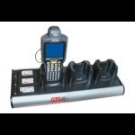 GTS HCH-3033-CHG charging station organizer Desktop mounted Aluminium Aluminium, Black