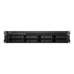 Synology RackStation RS1221+ NAS/storage server Rack (2U) Ethernet LAN Black V1500B