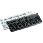 Cherry Comfort keyboard USB, black, ES USB QWERTY Black keyboard