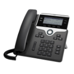 Cisco 7841, Refurbished IP phone Black, Silver Wired handset LCD 4 lines