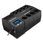 CyberPower BR1200ELCD Line-Interactive 1200VA 8AC outlet(s) Black uninterruptible power supply (UPS)