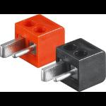 Microconnect AUDSPEAK3 electrical power plug 2P Black,Red